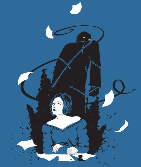 Mary Shelley Frankenstein Shirt