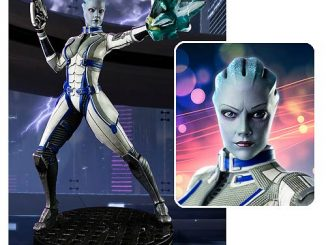 Mass Effect 3 Liara TSoni 1 4 Scale Statue