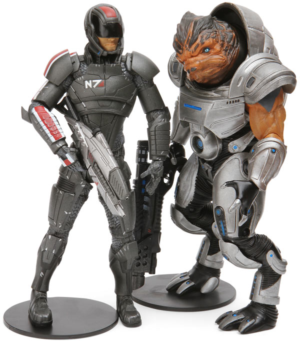 Mass Effect Figures Amazon Mass Effect Figures