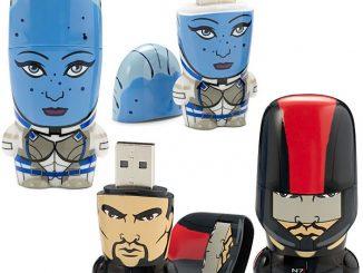 Mass Effect Mimobot Flash Drives