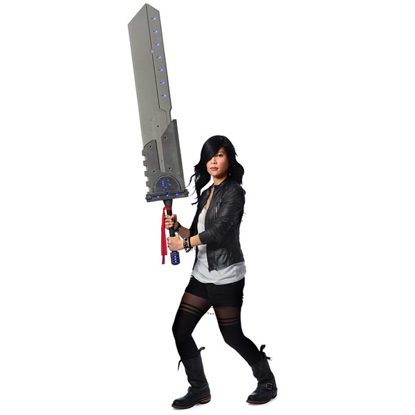 Massive Cosplay Titan Sword