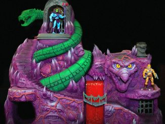 Masters Of The Universe Action Vinyls Flocked Battle Cat