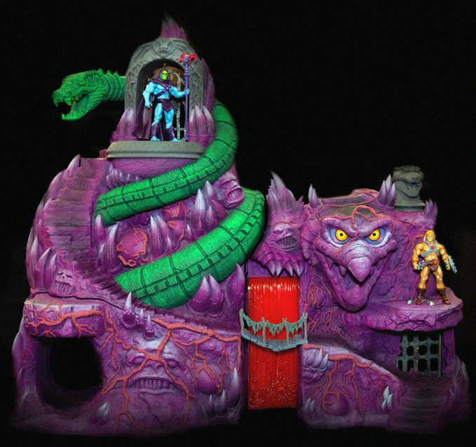 Masters of the Universe Collectors Choice Snake Mountain Playset