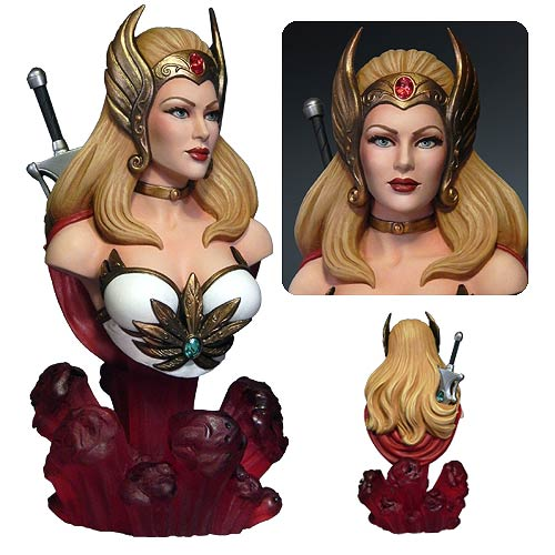 Masters of the Universe She-Ra Princess of Power Bust