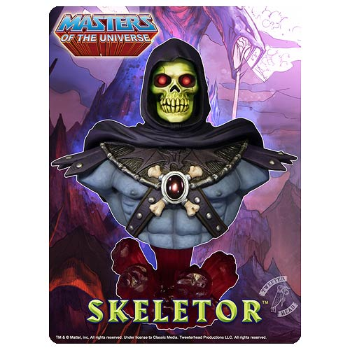 Masters of the Universe Skeletor Bust