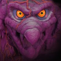 Masters of the Universe Snake Mountain Playset Detail Close Up