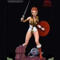 Masters of the Universe Teela Statue