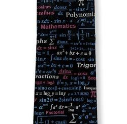 Math Equations Silk Tie