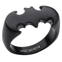 Matte Black Batman Ring