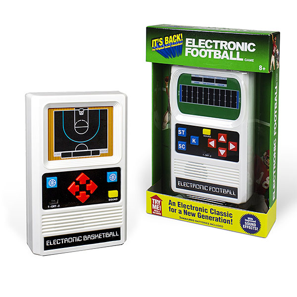 Mattel Classic Retro Sports Games