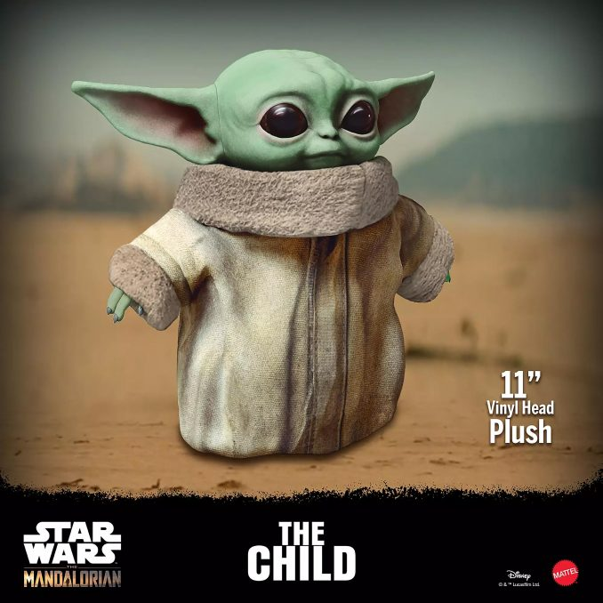 Mattel Star Wars The Mandalorian The Child Plush