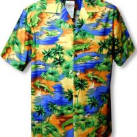 MauiShirts Alligator Hawaiian Shirt