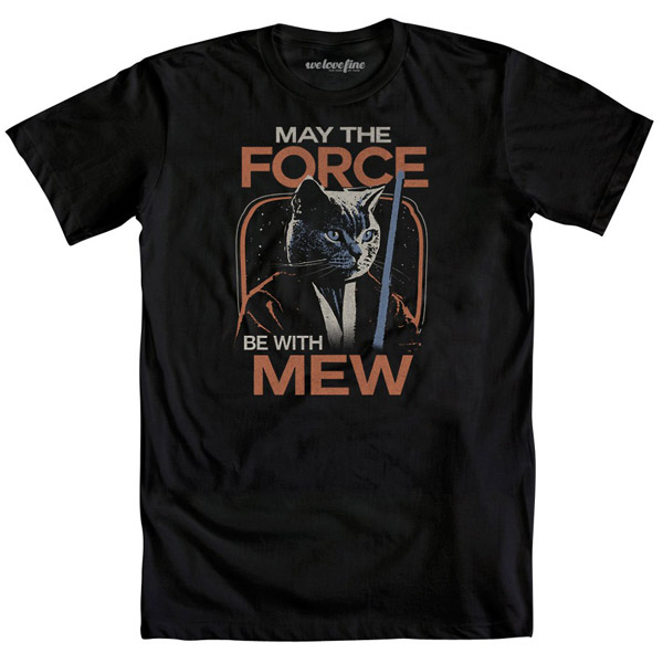 May The Force Be With Mew T-Shirt