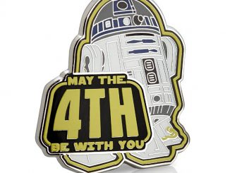 May the 4th Be with You R2-D2 Pin