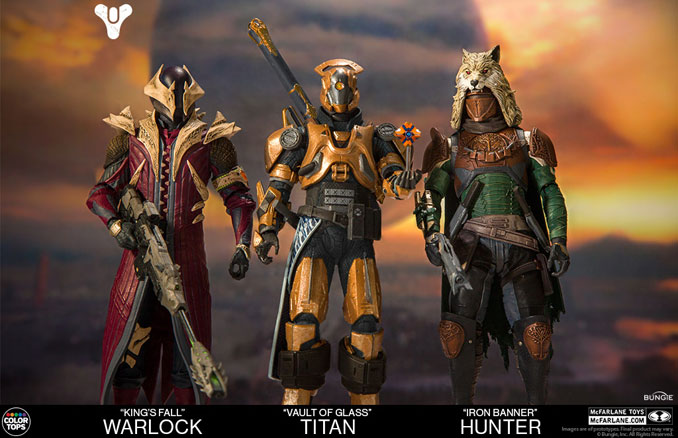 McFarlane Destiny Action Figure Set