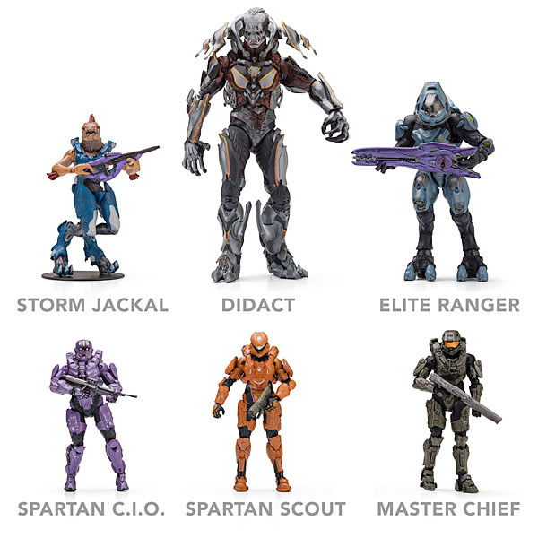 McFarlane Halo 4 Action Figures