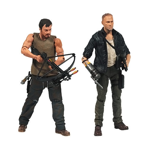 McFarlane The Walking Dead TV Series Merle and Daryl Dixon Action Figures