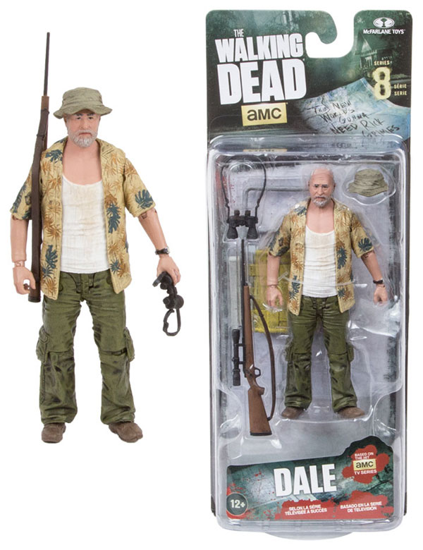 McFarlane Toys Walking Dead TV Series 8 Dale Horvath Action Figure