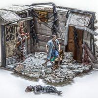 McFarlane Walking Dead Hospital Doors Building Set