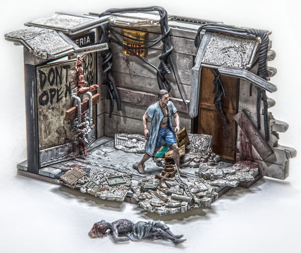 McFarlane Walking Dead Hospital Doors Building Set