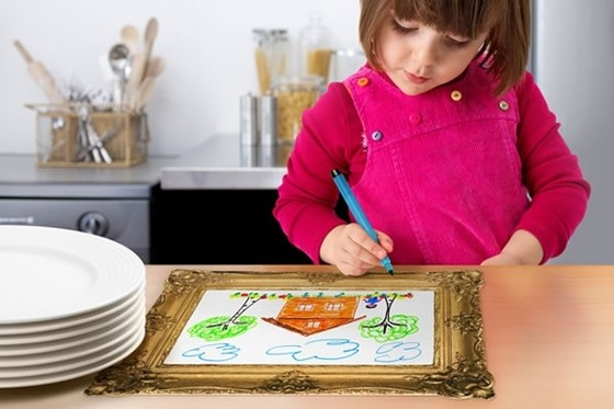 Mealtime Masterpiece Placemats