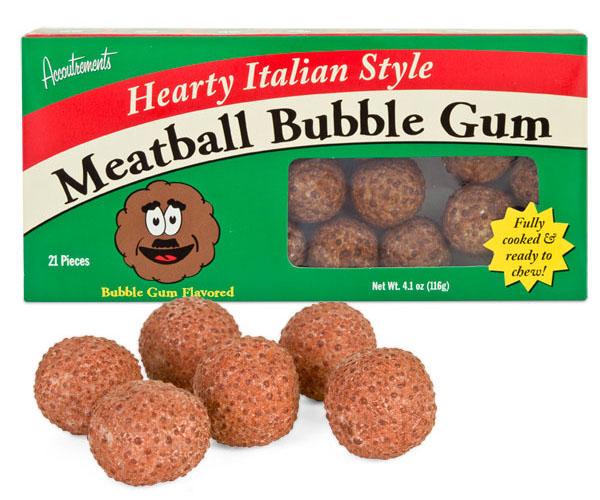 Meatball Bubble Gum