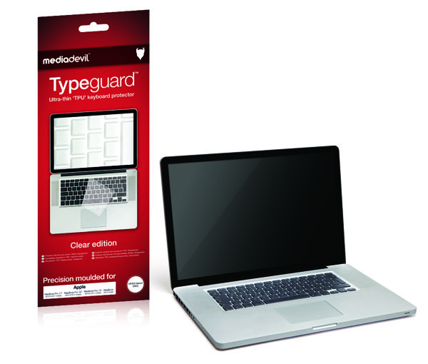 MediaDevil Anti-Bacterial Typeguard Keyboard Protector