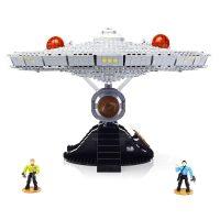 Mega Bloks Star Trek USS Enterprise Kirk Spock