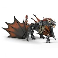 Mega Construx Daenerys and Drogon