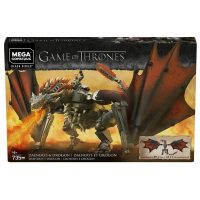 Mega Construx Game of Thrones Daenerys and Drogon Box