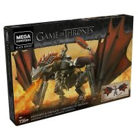 Mega Construx Game of Thrones Daenerys and Drogon Set