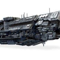 Mega Construx Halo UNSC Infinity Playset