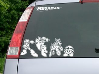 Mega Man Car Decal Set