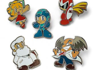 Mega Man Collectible Enamel Pin Sets