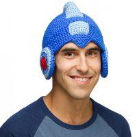 Mega Man Helmet Knit Cap