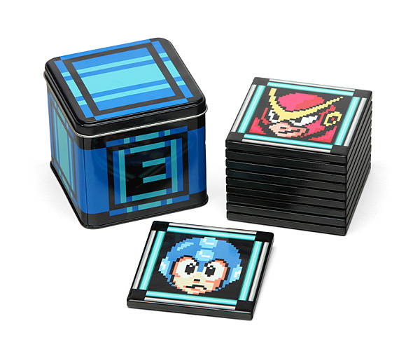 Mega Man II Coaster Set