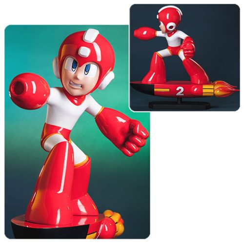 Mega Man Item 2 Statue
