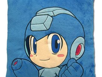 Mega Man Powered Up Velvet Pillow