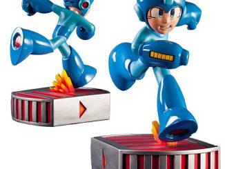 Mega Man Running Mega Man 13-Inch Statue