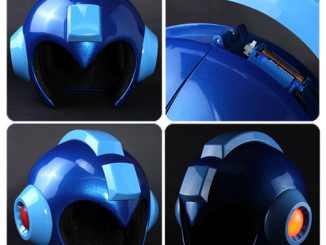 Mega Man Wearable Helmet Prop Replica