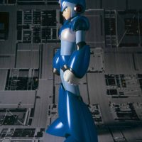 Mega Man X D-Arts Action Figure Side