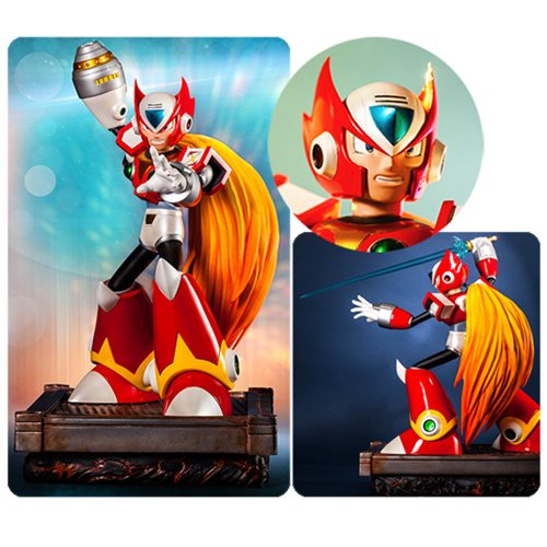 Mega Man X Zero 17-Inch Statue