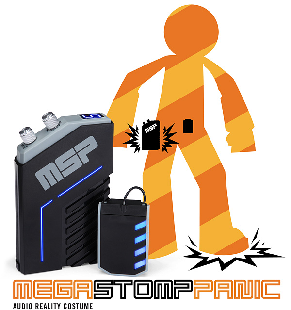 Mega Stomp Panic - Audio Reality Costume