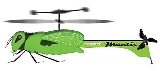 MegaStealth Mantis RC Insect