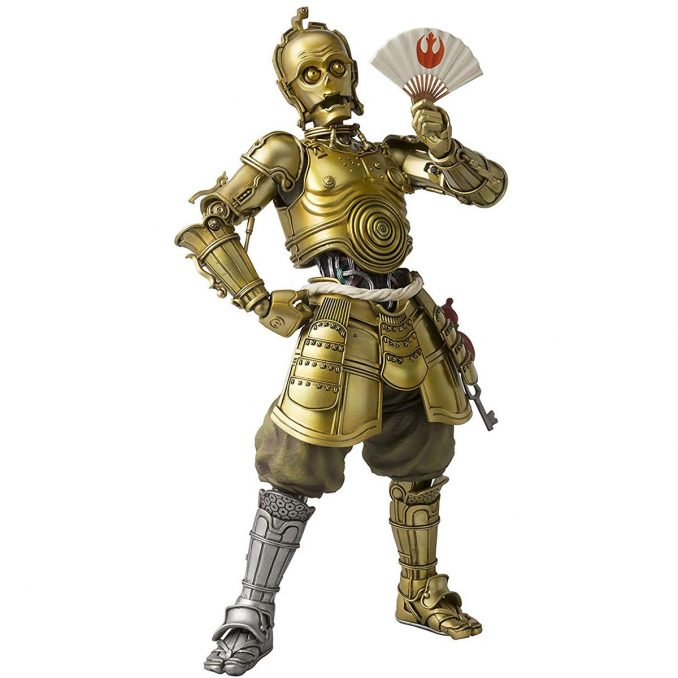 Meisho Movie Realization Samurai C-3PO Action Figure