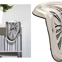 Melting Shelf Clock