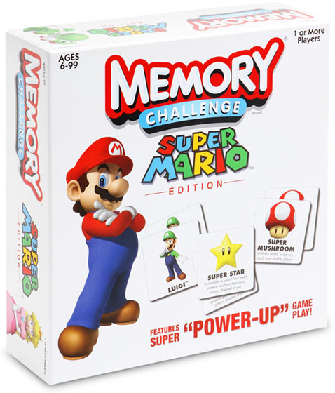 Memory Challenge Super Mario Edition