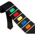 Men's Guitar Tie by Game Tie in Black