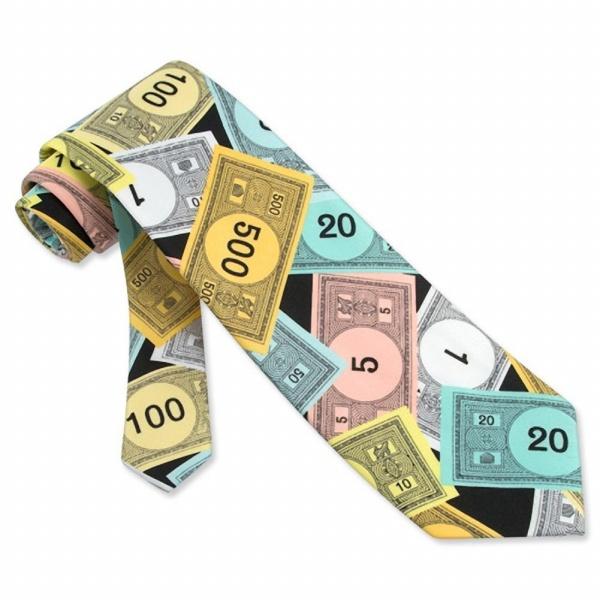 Men's Play Money Tie