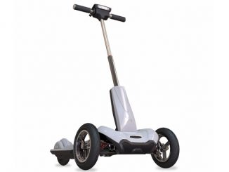 Mercane Transboard Three-Wheeled Foldaway Scooter